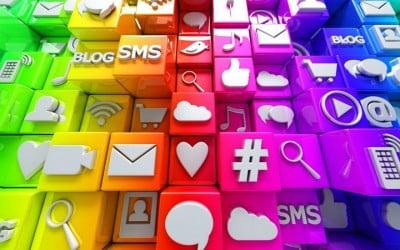 Ücretsiz Elegant Sosyal Medya İkonları